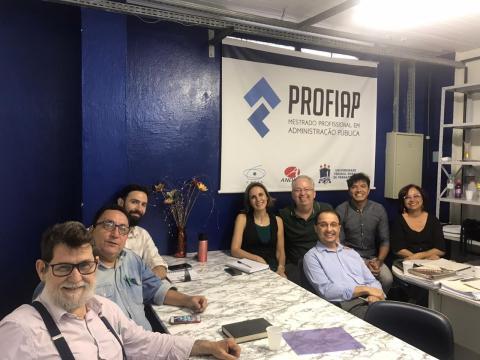 Posse da nova representação discente no Colegiado de Coordenação Didática do PROFIAP/UFRPE - Turma 2019